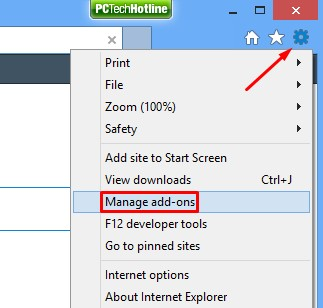 How to manage add-ons of Internet Explorer
