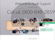 Deskassistance.com fake Apple Support 1800-848-2859 scam