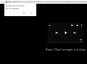 Leaked-video.live pop-up ads